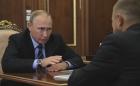 Президент России Владимир Путин встретился с главой «ОПОРЫ РОССИИ» Александром Калининым