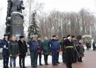 Михаил Глухов принял участие в митинге, посвященном подвигу «Варяга»