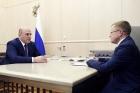 Президент ОПОРЫ РОССИИ встретился с Михаилом Мишустиным